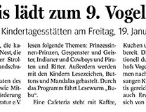 Lesefest in Vogelheim