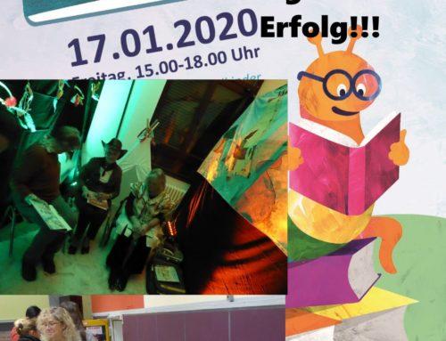 Stimmungsvolles Vorlesefest im Jugendhof Essen-Vogelheim in allen Räumen